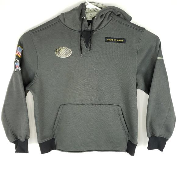 innovative design a6922 01383 Nike San Francisco 49ers Salute To Service Hoodie